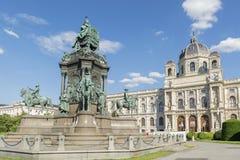 自然历史博物馆,维也纳,奥地利 免版税库存图片