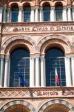 自然历史民事博物馆  免版税库存图片