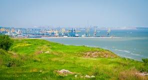 自然和工业风景 图库摄影
