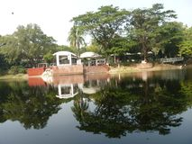 自然和湖达卡孟加拉国 库存图片