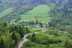 自然在Tustan 图库摄影