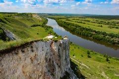 自然多白粉登上白俄语 库存图片