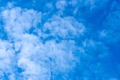 自然天空背景 免版税库存图片