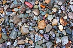 自然小卵石构造二变形 库存照片