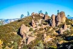 自然岩层在石峰国家公园 免版税库存照片