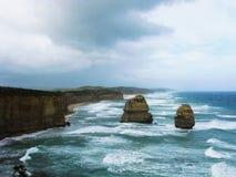 自然岩层 图库摄影