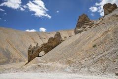 自然岩石曲拱 免版税库存照片