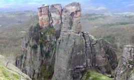 自然岩石欧洲保加利亚 免版税库存图片
