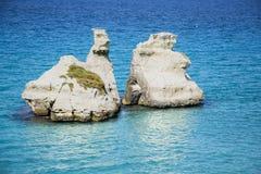 自然岩石 免版税图库摄影