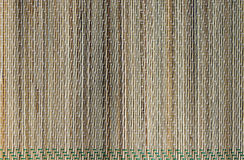 自然席子织品地毯纹理 库存照片
