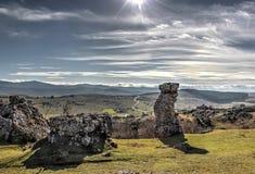 自然常设石头 免版税库存图片