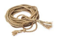 自然强的绳索 库存图片