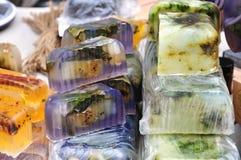 自然手工制造肥皂 免版税库存照片