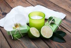 自然手工制造肥皂 免版税图库摄影