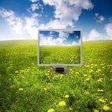 自然技术 免版税库存照片