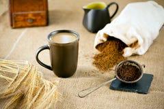 自然无咖啡因的咖啡 库存照片