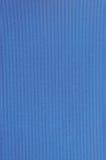 自然明亮的蓝色纤维亚麻布书套约束纹理样式,大详细的宏观特写镜头,织地不很细葡萄酒织品 库存照片