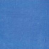 自然明亮的蓝色胡麻纤维亚麻制纹理,详细的宏观特写镜头,土气被弄皱的葡萄酒织地不很细织品粗麻布帆布 免版税图库摄影
