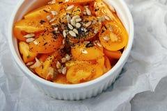 自然有机新鲜的salat蕃茄维生素菜 免版税库存图片
