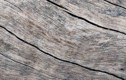 自然木纹理特写镜头照片 与被风化的镇压的灰色木材   库存照片