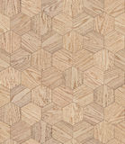 自然木背景蜂窝,难看的东西木条地板地板设计无缝的纹理 库存照片
