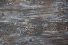 自然木背景,破旧的纹理 水平的委员会 库存照片