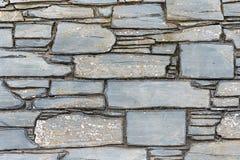 自然板岩墙壁 图库摄影