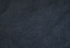 黑自然板岩石头纹理或背景 库存照片