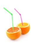 自然柑橘的鸡尾酒 库存图片