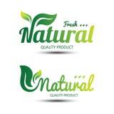 自然标签 图库摄影