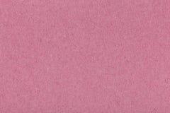 自然桃红色被回收的纸纹理背景 免版税图库摄影