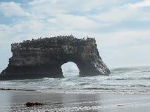 自然桥梁国家公园 库存照片