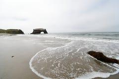 自然桥梁,国立公园,加利福尼亚 库存图片