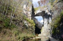 自然桥梁,弗吉尼亚 库存照片