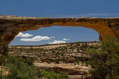 自然桥梁 库存照片