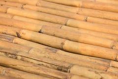 自然棕色竹子堆 免版税图库摄影