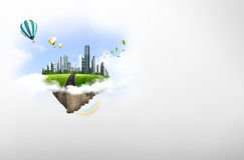 自然横向。 生态学概念 图库摄影
