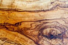 自然橄榄色木纹理背景 免版税库存照片