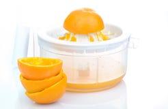 自然橙汁 免版税库存图片