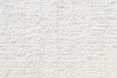自然水泥或石老墙壁纹理白色背景  库存图片