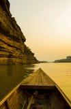 自然江边在泰国 库存图片