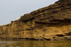 自然江边在泰国 免版税图库摄影