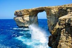 自然海曲拱 免版税库存图片