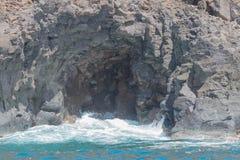 自然海洋洞 图库摄影