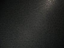 自然灰色皮革纹理  免版税库存图片