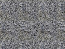 自然灰色花岗岩石头无缝的样式纹理  免版税库存照片