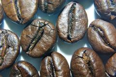 自然烤咖啡五谷  库存照片