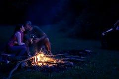 自然爱夫妇 免版税库存图片