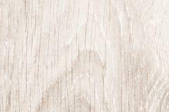 自然白色木纹理桌 库存图片