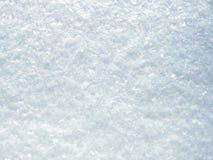 自然白色雪纹理 免版税图库摄影